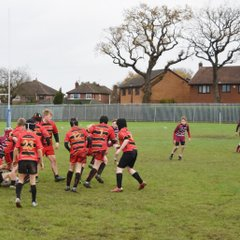 home win for under 13s against Wirral 29th November 2015