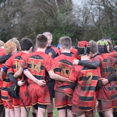 Under 13s away game against Wilsmlow