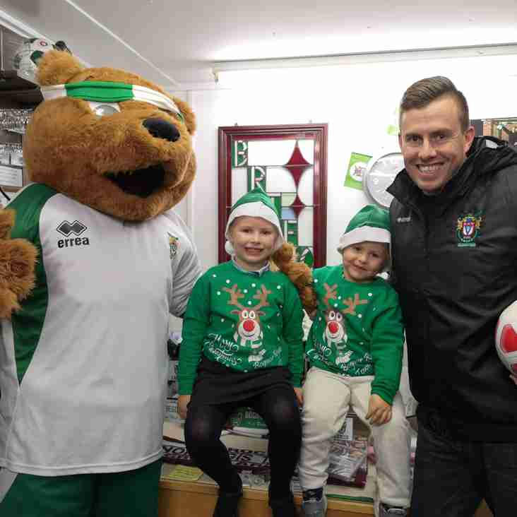 Rocks hope to score Christmas cheer with hospital visit