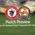 Match Preview:  Longridge Town v AFC Blackpool