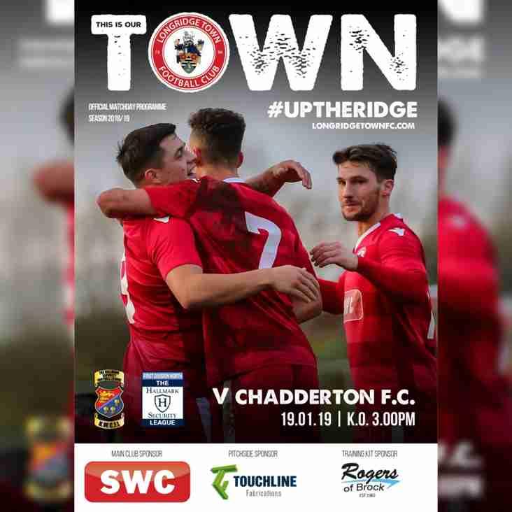 Programme Preview: Chadderton