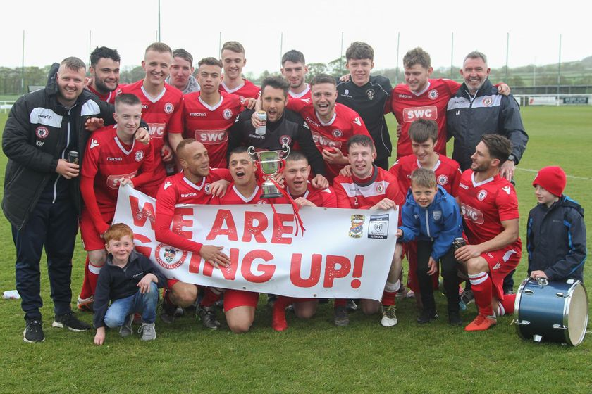 Town players in Counties Podcast NWCFL First Division North Squad of the Year