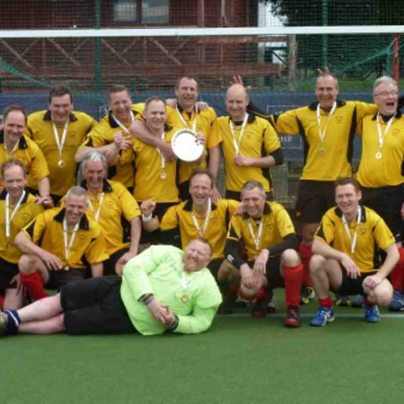 Mens Masters Over 40s Shield Winners 2012-13