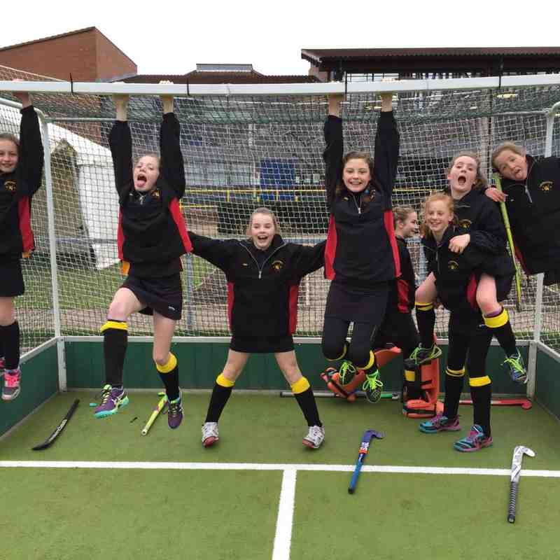 U12 Girls - Bronze Medal at GHA County Tournament 6 March 2016