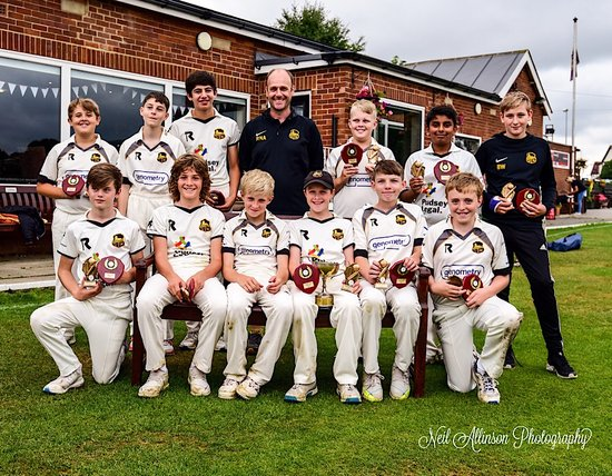 U13s League And Cup double 12 /8/2018
