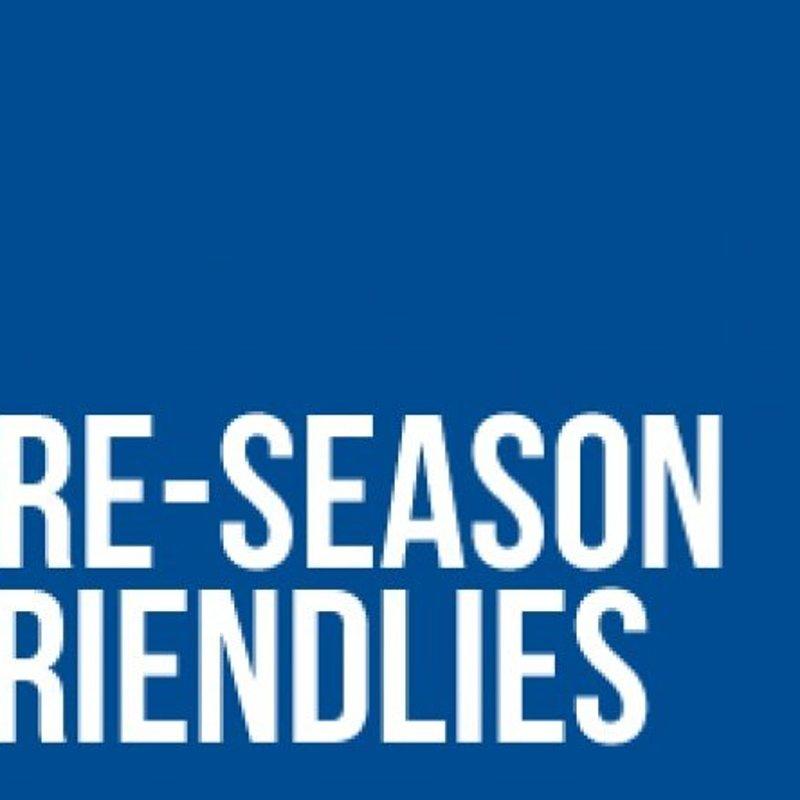 Additional Pre Season Fixture