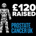 £120 Raised for Prostate Cancer UK
