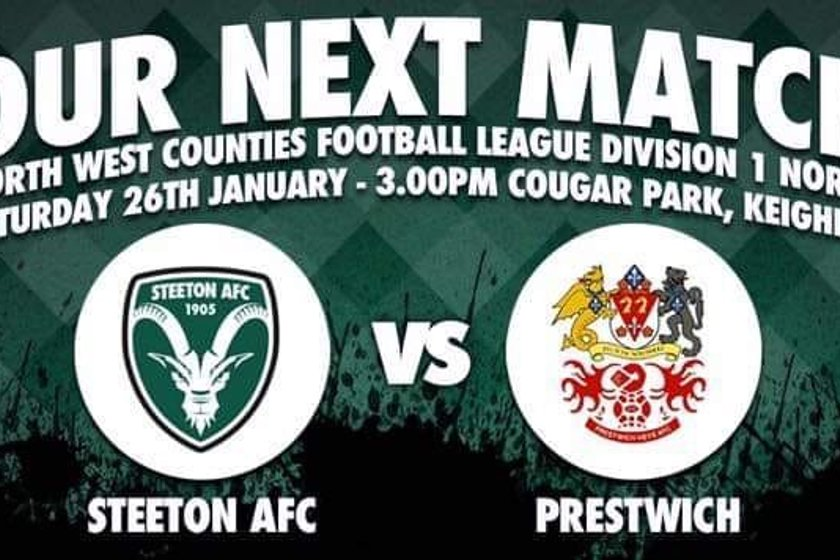 NEXT UP: Prestwich Heys at Home (Sat 26th Jan)