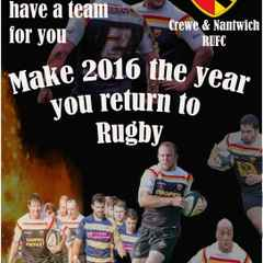 Do you know someone who used to play rugby?
