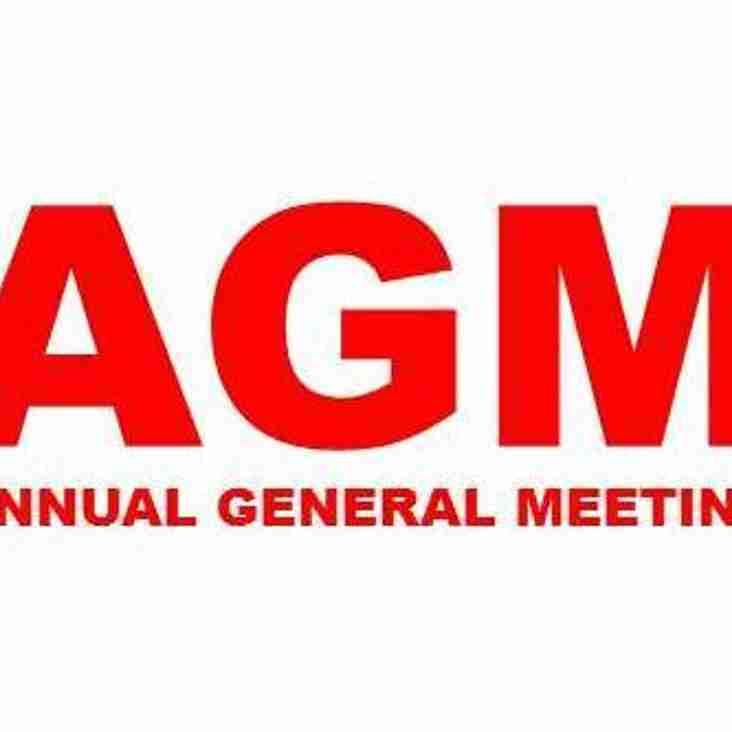 AGM 2017 25th May 2017
