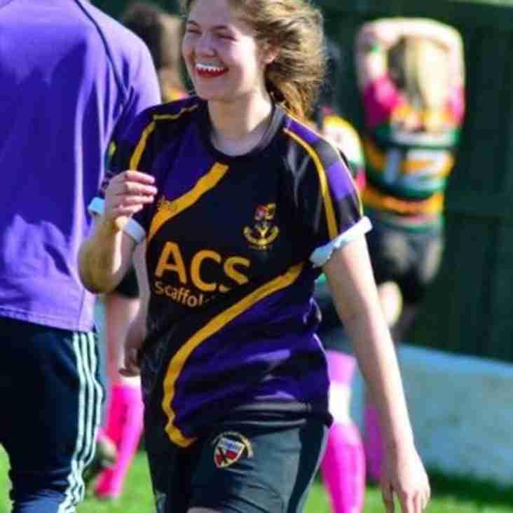 Congratulations to Christine Lawson, North of England U18s