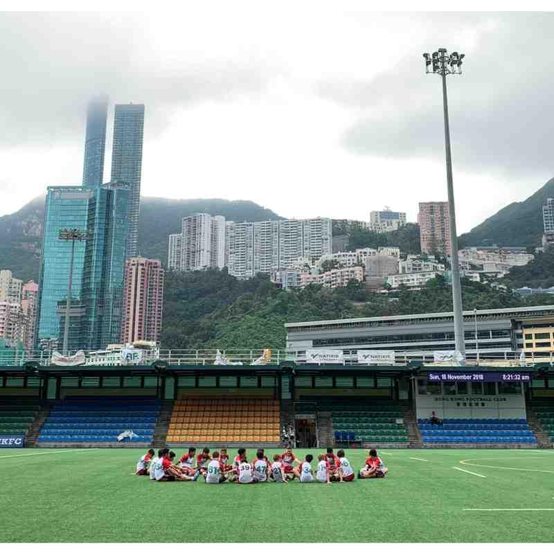 U14B - Sandy Bay 57 - Football Club 0