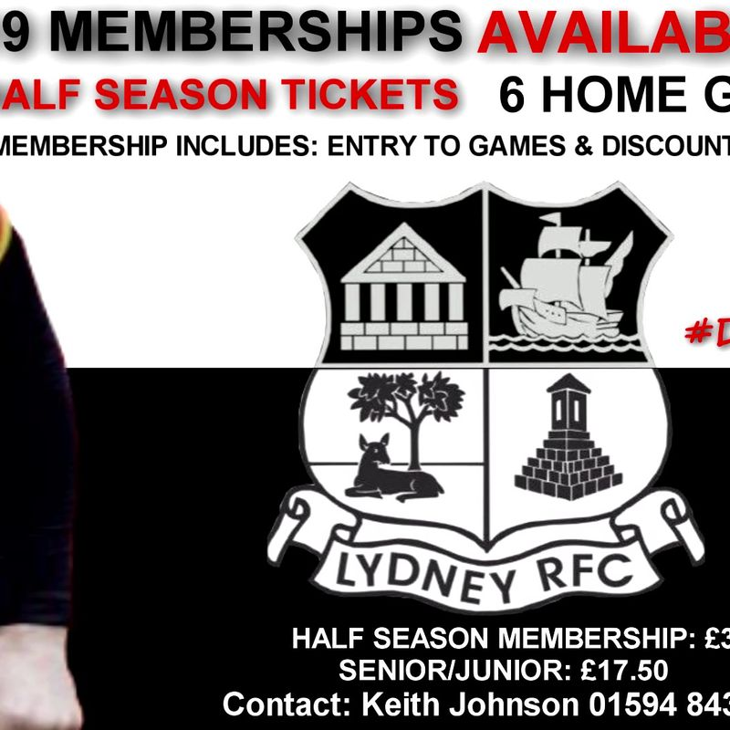 Half Season Memberships