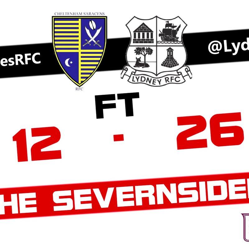Cheltenham Saracens RFC U'16s vs Lydney U'16s Match Report