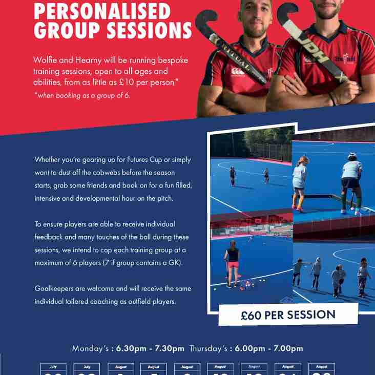 Personalised Group Coaching Sessions