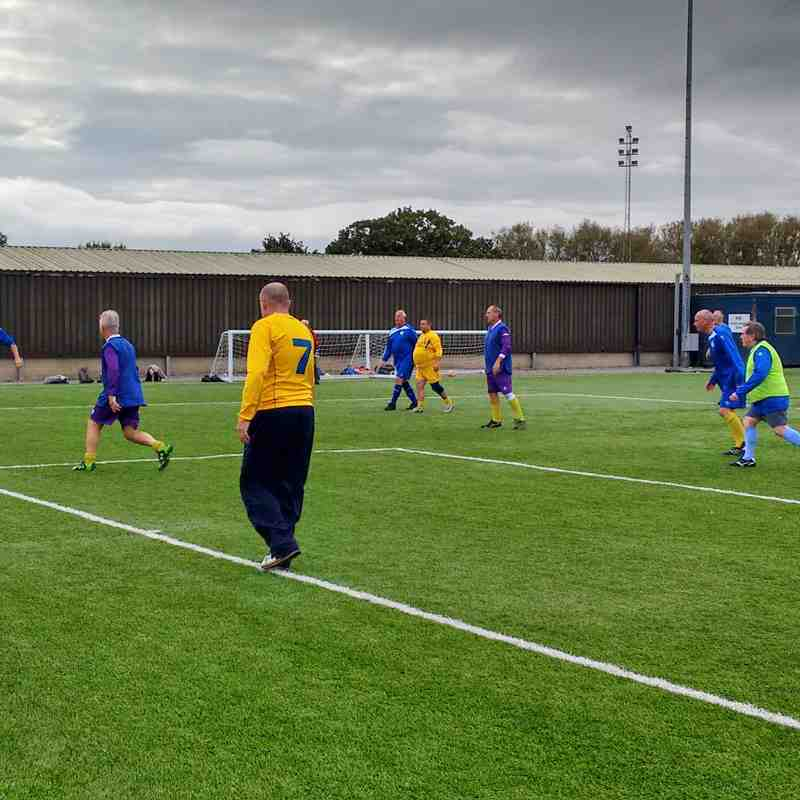Clevedon Town v Bristol Manor Farm Walking Football Tournament 20/10/2016