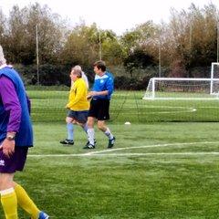 Clevedon Town v Bristol Manor Farm Walking Football Tournament 20/10/2016