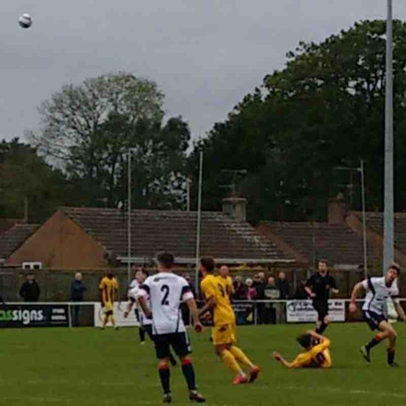 Willand Away 30th Sept 2017