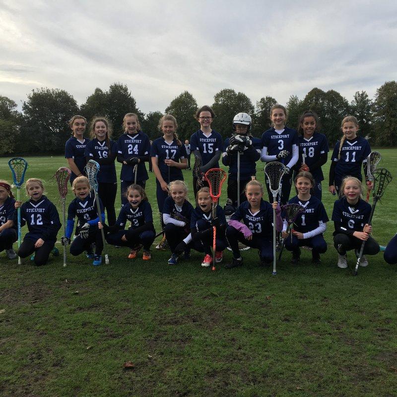 U13 Girls Away at Liverpool
