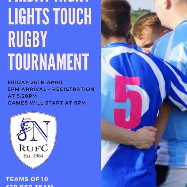 Friday Night Touch Tournament