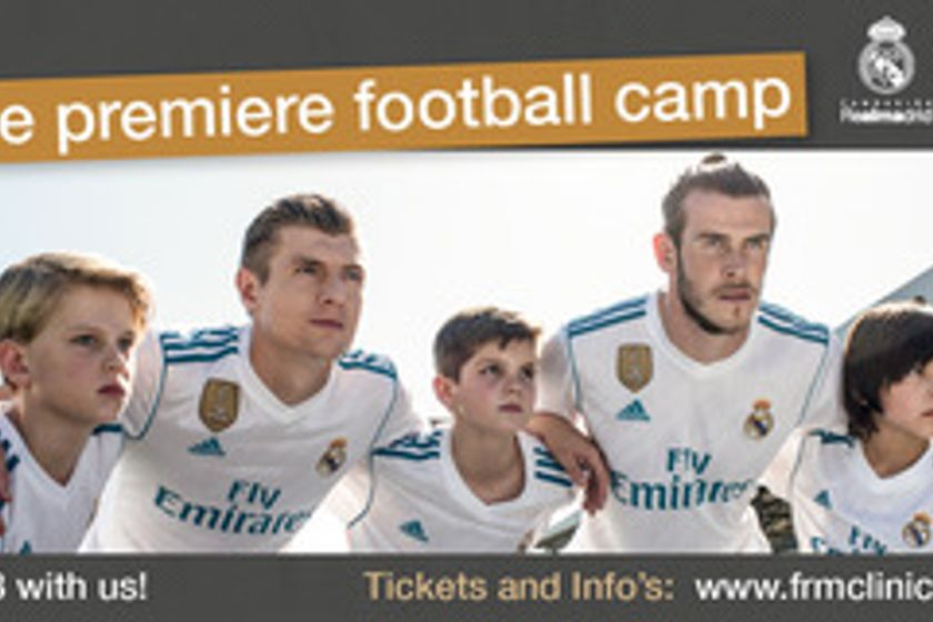 Real Madrid clinic coming to Pwllheli