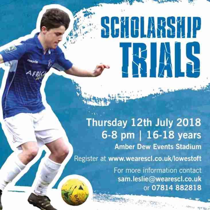 Upcoming scholarship trials