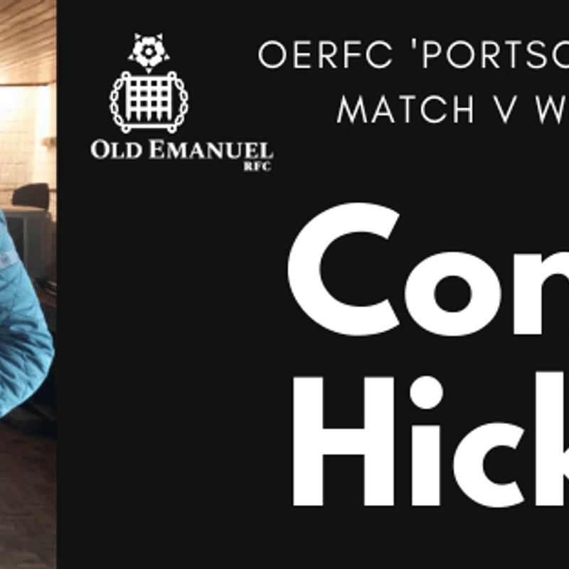 Congratulations Conan Hicks PortScullers Man of the Match