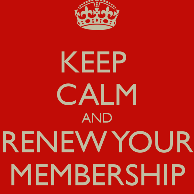 Membership Forms 2019 - Sign Up/ Renew Now