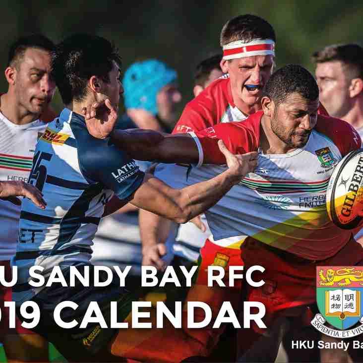 HOT! 2019 Sandy Bay Calendar