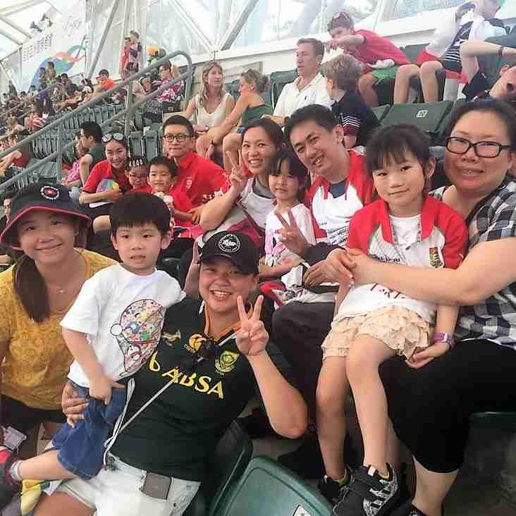 Sandy Bay Hosts Families of Heep Hong Society at HK Sevens