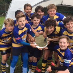 U12's Plate Winners at the Bromley Festival