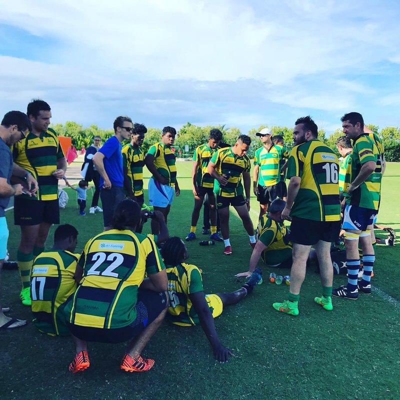 1st Team lose to Teachers RFC 12 - 40