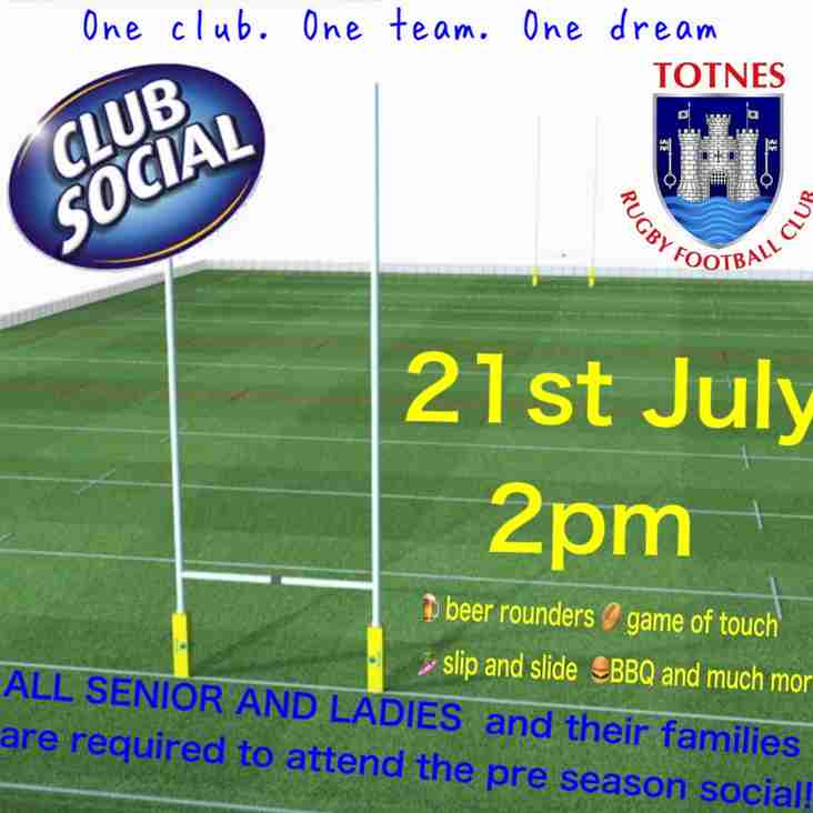 Totnes RFC Adults teams social