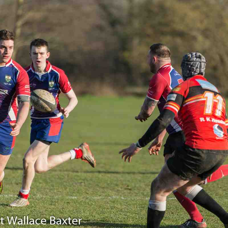2 nd XV Vs Blackburn 2 24-2-2018