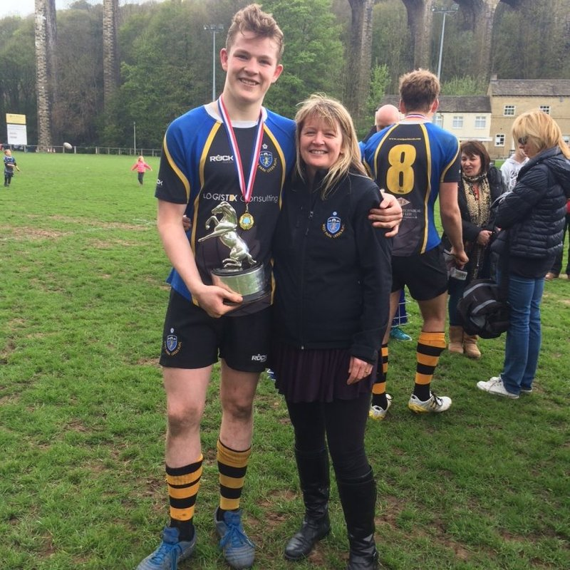 Chair of Age Grade Rugby Crowned Yorkshire RFU Volunteer of the Year