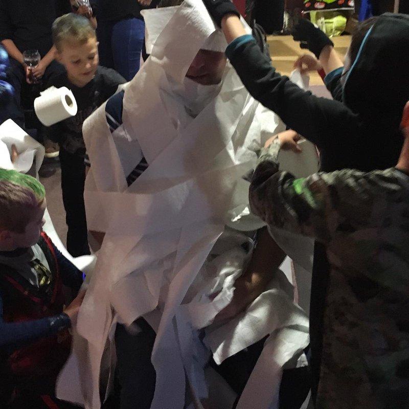 A spooktacular party