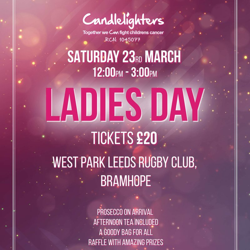 Candlelighters Ladies Day Tickets on Sale