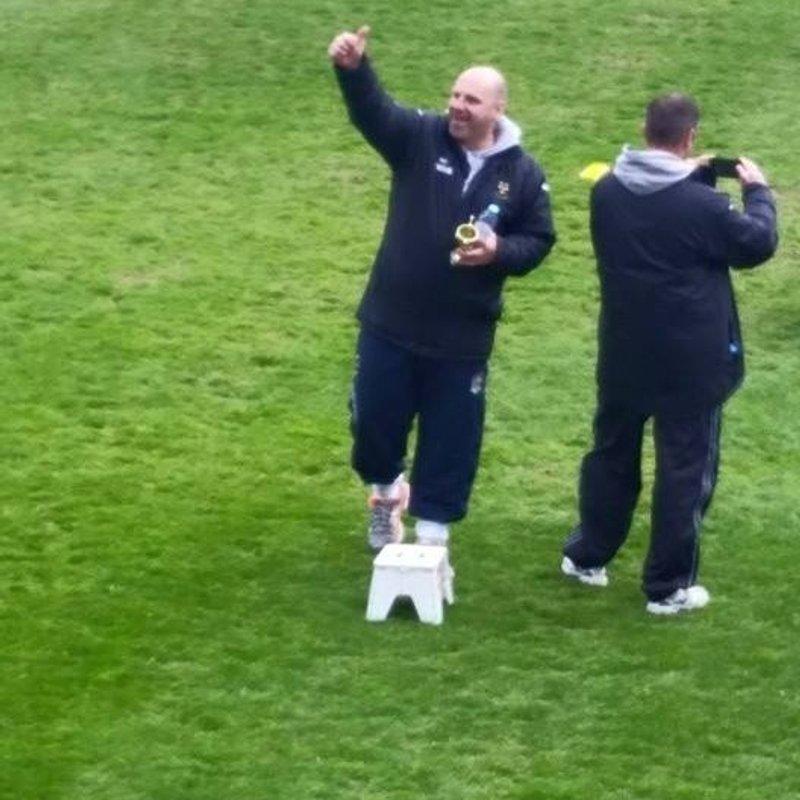 Lydney Under 12's close to league title