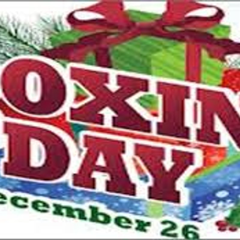 Boxing Day Special!!