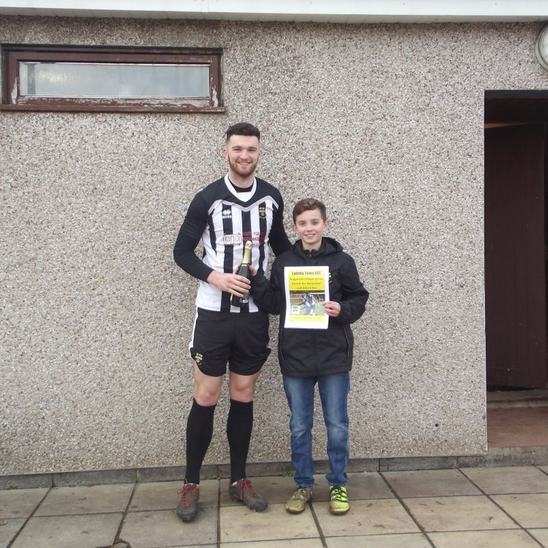 Supporters Player of the Month