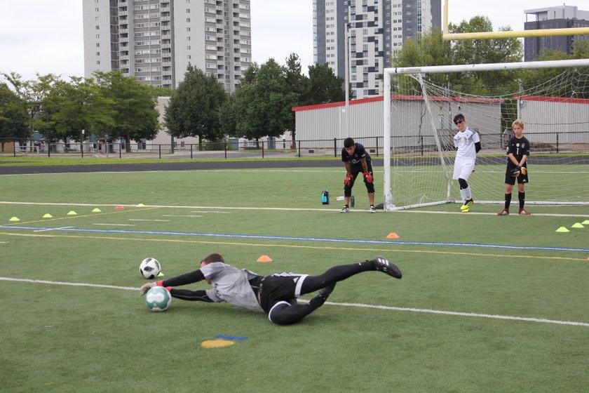 Berlin Football Academy Tryouts Day 1 RECAP