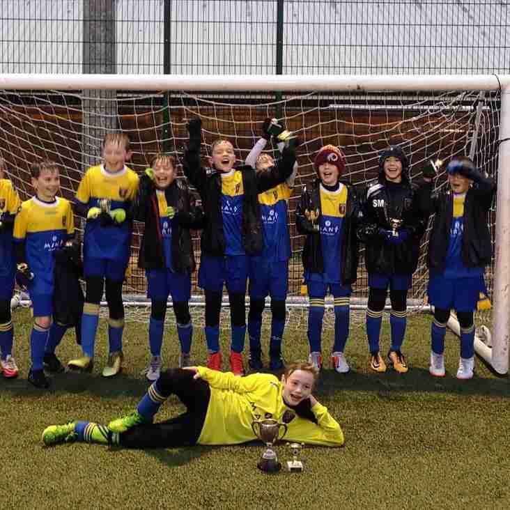U11 Barbarians Win Hampshire Premier League Cup Final