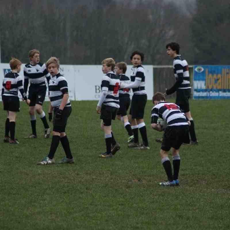 Under 13's v Haywards Heath - League Match Jan 2014