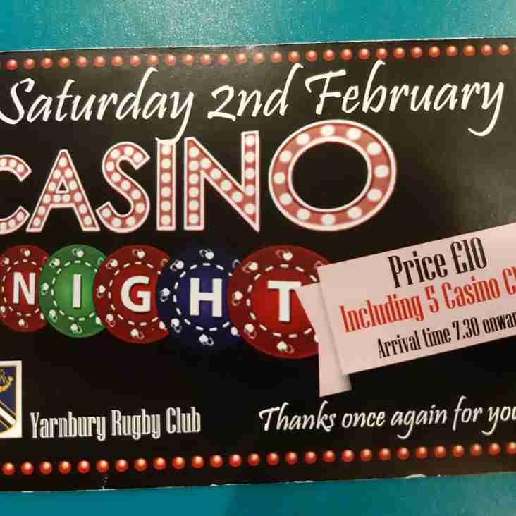 Yarnbury Casino Night