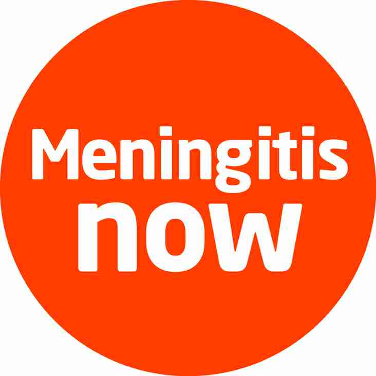 Under-11s team up with meningitis charity.