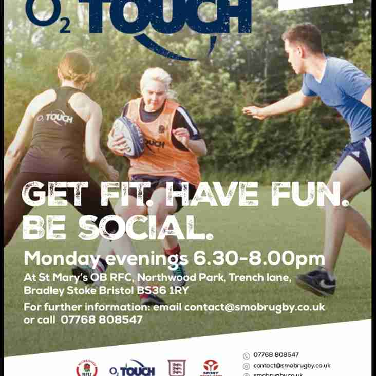 O2 Touch at St Mary's Old Boys RFC