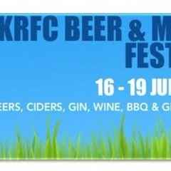 Kettering Rugby Club Beer & Music Festival - Thursday 16th June to Sunday 19th June 2016.