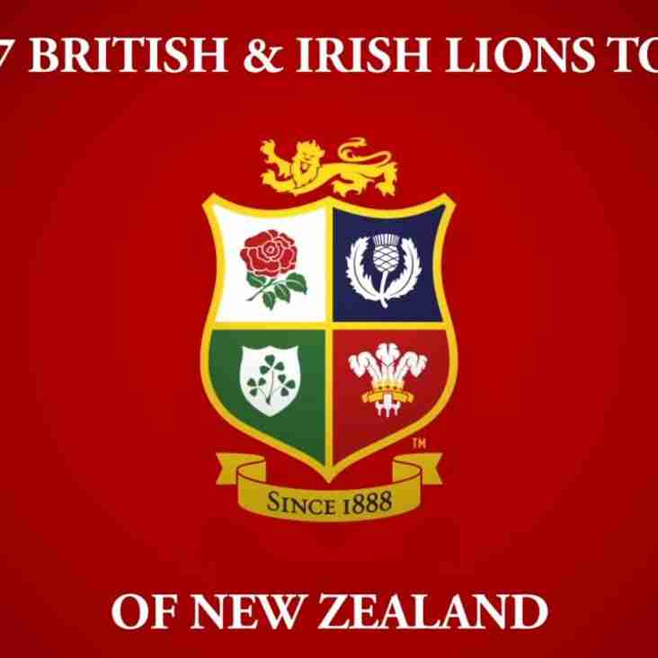 British Lions Evening on Friday 31st March!