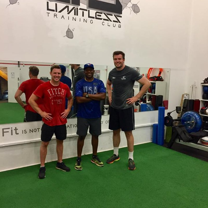 Kettering Blues 'Old Boys' use Limitless Training at KRFC
