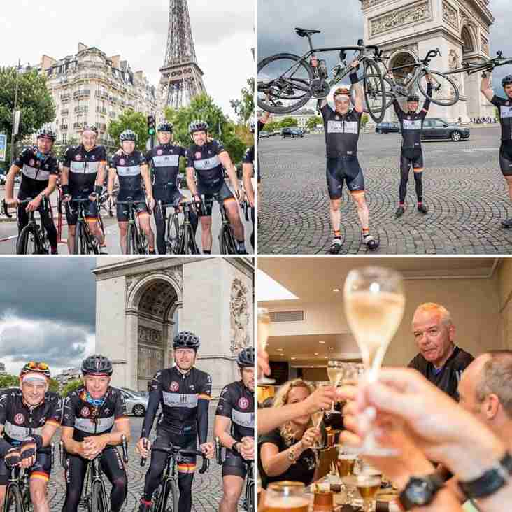 Andy Parker wins his own 'Tour of France'!